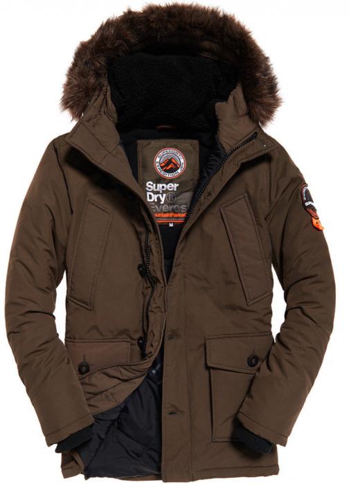 Superdry Everest Parka – Khaki für 71€ statt 149€