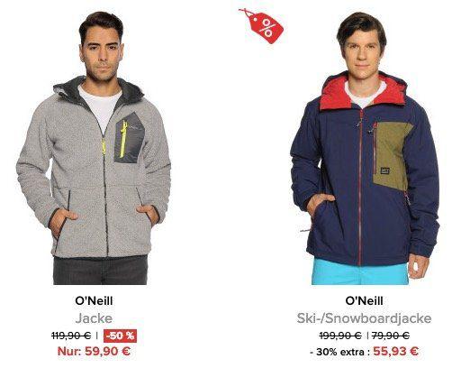Knaller! ONeill Jacken stark reduziert + 10% Gutschein   z.B. ONeill PM Bearded Jacket für 62,91€ (statt 191€)