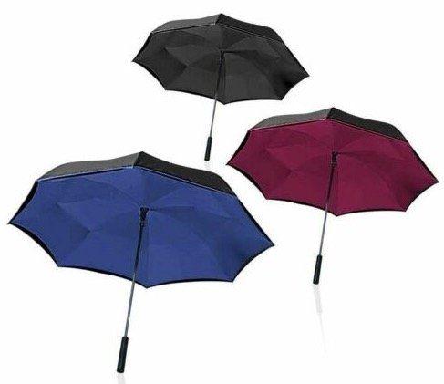 Wonderdry Umbrella Regenschirm mit Umstülptechnik für 9,95€ (statt 15€)
