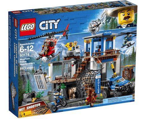 Lego City   Hauptquartier der Bergpolizei (60174) für 46,19€ (statt 58€)