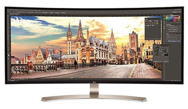 LG 34UC99 W   34 Zoll UWHD Monitor mit USB C (bis 60W) für 599,90€ (statt 681€)