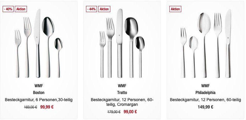 Vorbei! 20% statt 20€ Rabatt ab 100€ bei Galeria Kaufhof   günstige Marken Klamotten, Geschirr, Besteck, Töpfe etc.