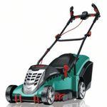 Bosch Rotak 43 Elektro-Rasenmäher (Modell 2014) mit 50L Fangkorb für 199,99€ (statt 248€)