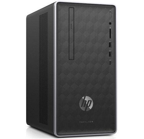 HP 590 p0564ng Desktop PC mit 256GB, 1TB, RX 580 4GB für 479,20€ (statt 663€)