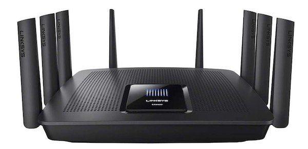 Linksys Max Stream EA9500 AC5400 Tri Band WLAN Router für 189€ (statt 279€)