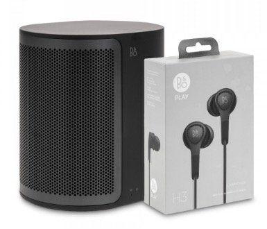 Bang & Olufsen M3 Streaminglautsprecher + H3 Kopfhörer für 249€ (statt 298€)
