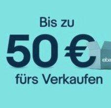 eBay: Artikel für mind. 5€ verkaufen und 10% Gutschein im Wert des Verkaufspreises erhalten (max. 50€)   nur eingeladene Mitglieder