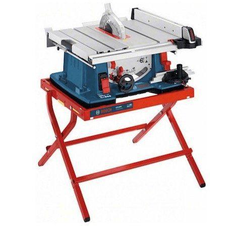 Bosch Tischkreissäge GTS 10 XC mit Maschinenständer für 699,95€ (statt 778€)