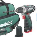 Metabo Combo-Set 2.4 10.8 V (Schrauber, Säbelsäge, Bits, Akkus, Tasche) für 150€ (statt 177€)