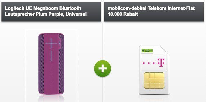 Telekom 10GB LTE Datentarif für 15,99€mtl. + UE Megaboom für 29€ (Wert 142€)