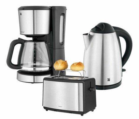 WMF Bueno Frühstücks Set (Wasserkocher, Toaster, Kaffeemaschine) für 88,88€ (statt 105€)