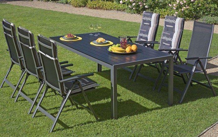 Gartenmöbel Set Las Vegas (Tisch + 6 Stühle) für 428,96€ (statt 689€)