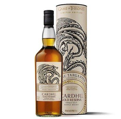 Cardhu Gold Reserve Single Malt (House Targaryen Game Of Thrones Limited Edition) für 54,99€(statt 68€)