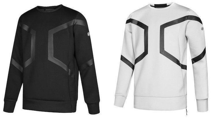 Asics Tiger Hexagon Crew Neck Top Herren Sweatshirt für 31,94€