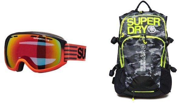 😍 Superdry mit 50% Rabatt auf Schneekleidung + keine Versandkosten   z.B. Super Canadian Ski Steppjacke für 174,98€ (statt 253€)