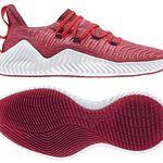 adidas AlphaBOUNCE Trainer Herren Sneaker in Rot für 49,99€ (statt 60€)