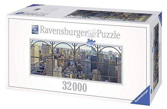 Knaller! 😍 Ravensburger Puzzle New York City Window mit über 32.000 Teilen für 129,99€ (statt 212€)