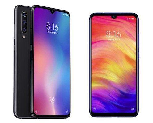 TOP! 🚀 Xiaomi Mi 9 + Xiaomi Redmi Note 7 für 4,95€ + Vodafone Allnet Flat mit 7GB LTE für 36,99€ mtl.