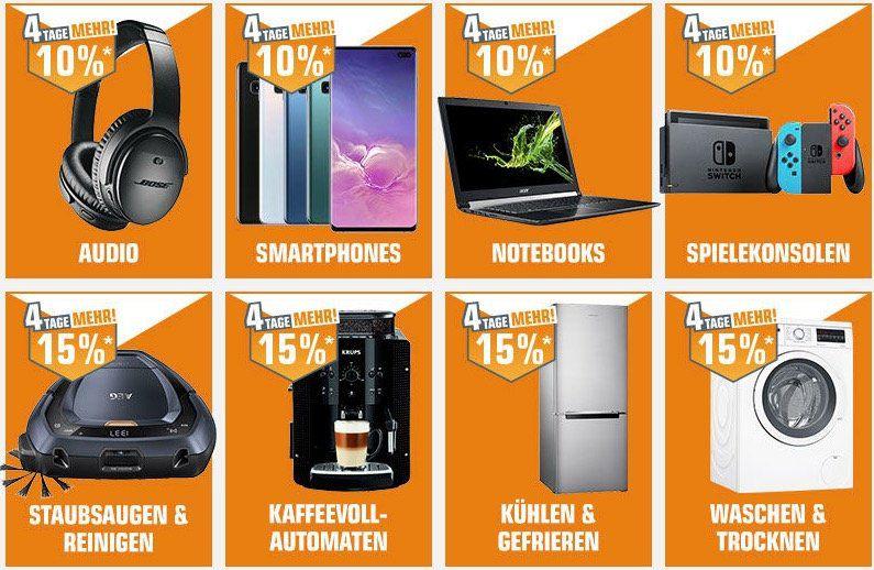 Tipp! Saturn Card Promo mit vielen günstigen Artikel   z.B. 5% auf ausgewählte Apple Artikel, 10% auf Smartphones, TV, HiFi, Foto, etc.