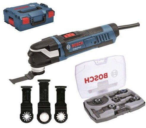 Bosch Professional Multi Cutter GOP 40 30 + 5 tlg. Messer Set in L BOXX für 179,10€ (statt 205€)