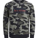 Jack & Jones Herren Pullover mit Camouflage-Muster für 24,46€ (statt 36€)