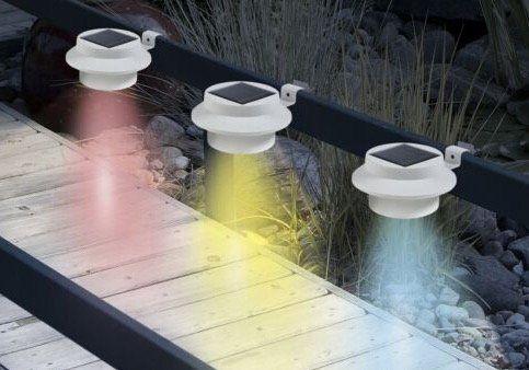 3er Pack EASYmaxx Solar Leuchten mit Farbwechsel für 16,19€