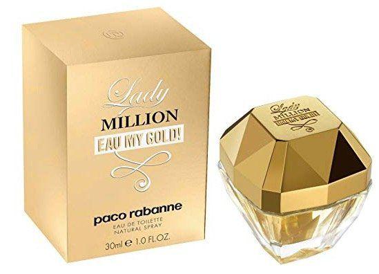 Paco Rabanne Lady Million Eau My Gold 30ml Eau de Toilette für 29,99€