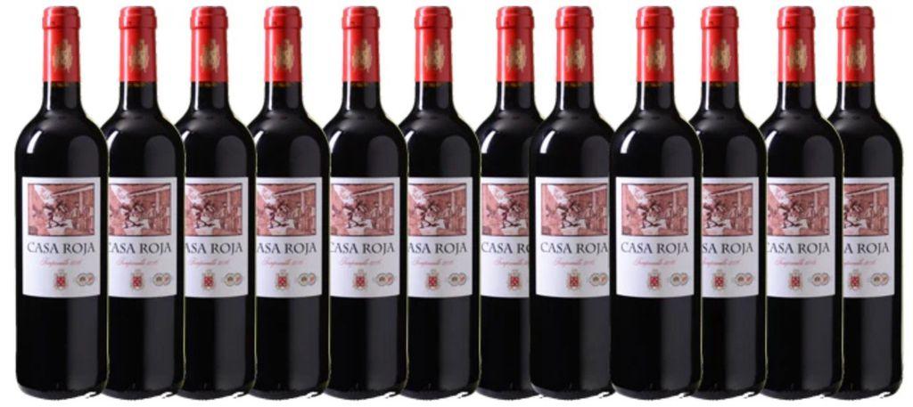 12er Kiste Casa Roja Tempranillo für 39,96€ inkl. VSK (statt 66€)