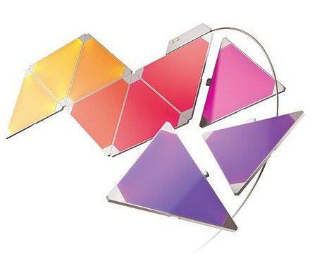 Nanoleaf Aurora Starter Kit mit 9 Lichtquellen für 142,49€ (statt 186€)