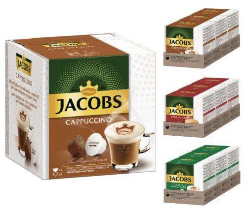 128 Dolce Gusto Kapseln (Cappuccino, Latte Macchiato, Cafè au Lait) für 19,99€ (statt 38€)   MHD 09/19
