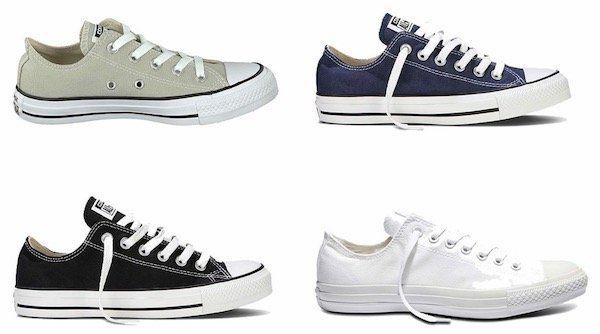 Converse All Star Chucks Lowcut Sneaker ab 22,39€ (statt 30€)