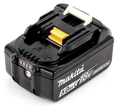 Makita BL1850B 5,0Ah 18V Li Ion Akku mit Ladestandsanzeige für 53,95€ (statt 63€)