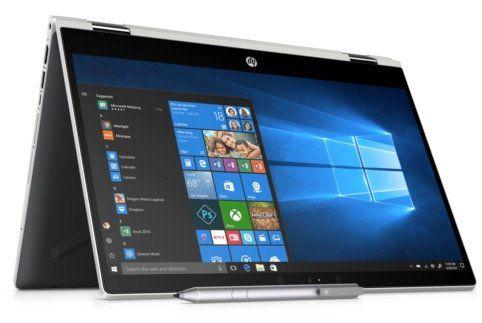 HP 14 cd0103ng   14 Zoll 2 in 1 Notebook mit 256GB + Win 10 für 532,90€ (statt 607€)