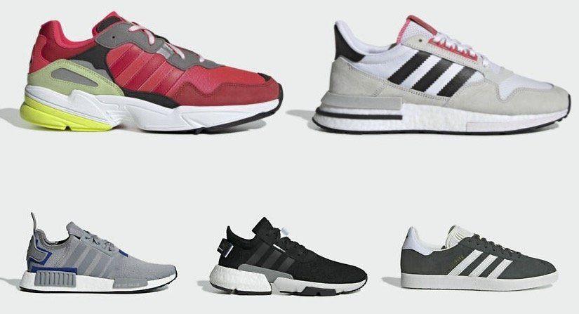 👟 adidas Sale bis  50% bei eBay   z.B. adidas Originals Gazelle in Grün für 47,47€ (statt 90€)