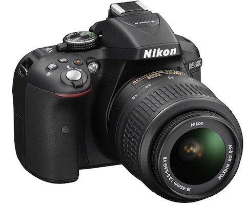 Nikon D5300 Spiegelreflexkamera mit 18 55 mm Objektiv für 399€ (statt 477€)