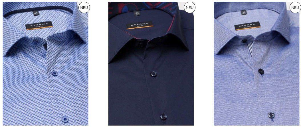 Eterna Hemden Sale: 2 Hemden kaufen   nur 75€ bezahlen (statt 120€)
