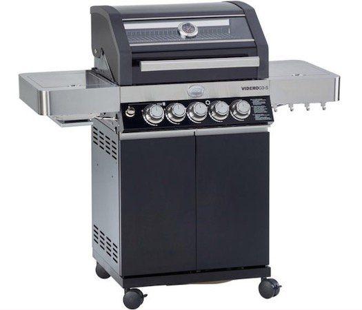 Geht wieder! Rösle Gasgrill Videro G3 S inkl. 800°C Primezone und Seitenkocher für 509,15€ (statt 543€)