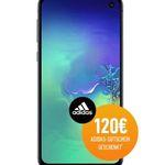 📱 Samsung Galaxy S10e für 5€ + 120€ adidas Gutschein gratis + Vodafone Allnet-Flat mit 7GB LTE für 36,99€ mtl.