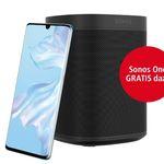 Huawei P30 Pro für 39,99€ + gratis Sonos One Smart Speaker (Wert 200€) + o2 Allnet-Flat mit 3GB LTE für 36,99€ mtl.