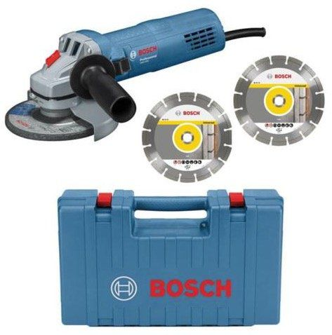 Bosch GWS 880 Winkelschleifer im Koffer + 2 Diamant Trennscheiben für 49,41€(statt 62€)