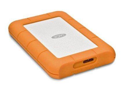 LaCie Rugged Mini   2,5 Zoll USB 3.0 Festplatte mit 1TB + stoßfestem Gehäuse für 66€(statt 79€)