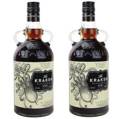 2 Flaschen Kraken Black Spiced Rum je 0,7L für 31,40€ (statt 37€)   via Paydirekt
