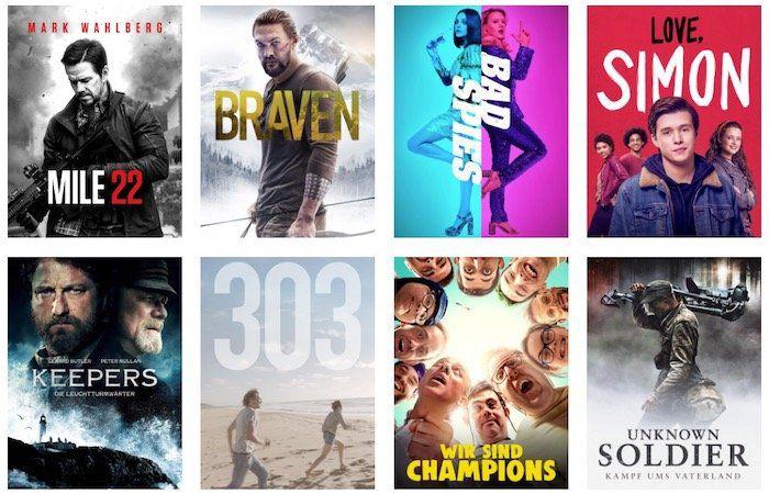 Amazon Prime Deals 12 Filme Für Je 099 In Hd Ausleihen