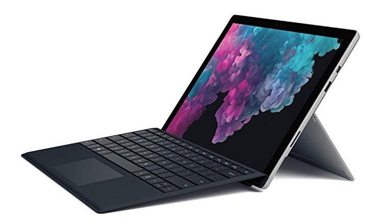 Knaller! Microsoft Surface Pro 6   12,3 Zoll Convertible mit i5 128GB SSD + Type Cover für 799€ (statt 980€)