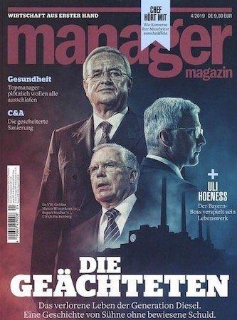 Knaller! 3 Ausgaben Manager Magazin gratis und automatisch auslaufend + einmalig 5,95€ VSK (statt 27€)