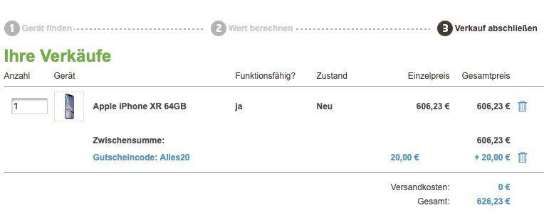 Apple iPhone XR + True Wireless Kopfhörer für 59€ + Vodafone Allnet Flat mit 10GB LTE für 36,99€ mtl. (Young 12GB)