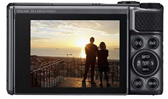 Ausverkauft! CANON Powershot SX730 HS Digitalkamera mit 40x optischem Zoom und WLAN für 192,13€ (statt 260€)