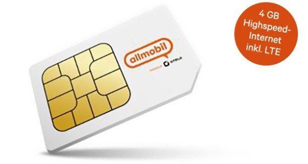 Vodafone Allnet Flat von otelo mit 4GB LTE für 7,99€mtl. + 50€ Bonus bei Rufnummermitnahme