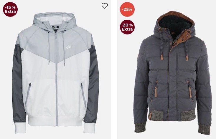About You Sale + bis zu 20% Extra auf Übergangsjacken + 15% Gutschein