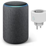 Amazon Echo Plus (2. Gen) Lautsprecher mit integriertem Smart Home-Hub + smarte Steckdose für 110,93€ (statt 149€)